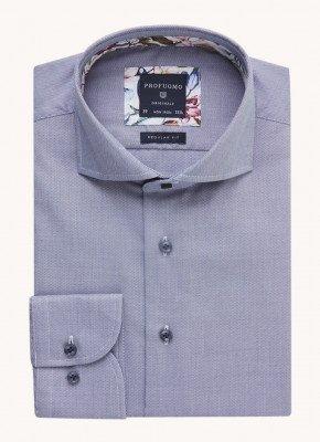Profuomo Profuomo Regular fit overhemd met microdessin