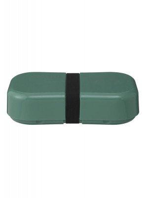 HEMA HEMA Lunchbox Met Elastiek XL Groen (groen)