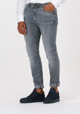 Tommy Hilfiger Grijze Tommy Hilfiger Slim Fit Jeans Slim Bleecker Sstr Dawn Grey