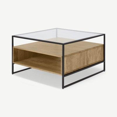 MADE.COM Kilby vierkante salontafel met opbergruimte