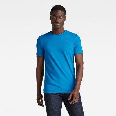G-Star RAW Slim Base T-Shirt - Midden blauw - Heren