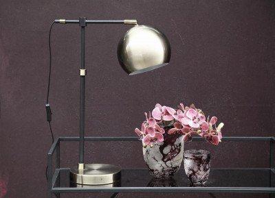 Firawonen.nl PTMD jayson brass metalen tafellamp laag