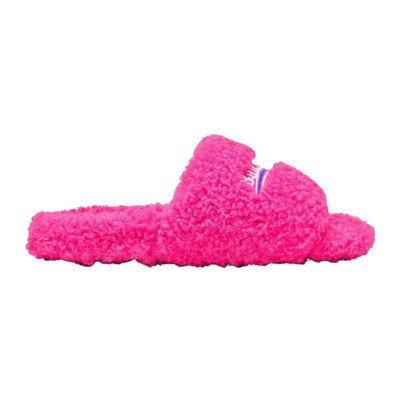 Balenciaga Furry Slide Sandals