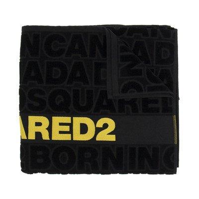 Dsquared2 Bath towel with logo