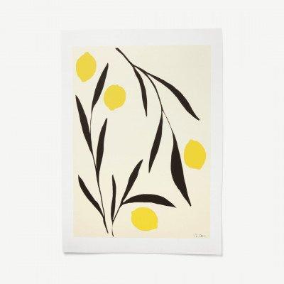MADE.COM Lemon door Anna Moerner, print, 50 x 70 cm