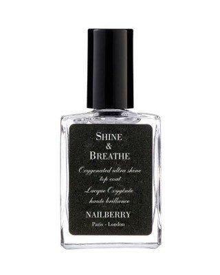Nailberry Nailberry - Shine & Breathe Top Coat - 15 ml