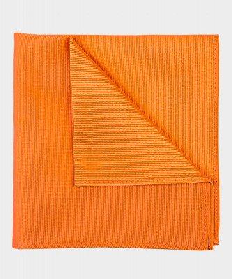 Michaelis Michaelis heren zijden pochet oranje