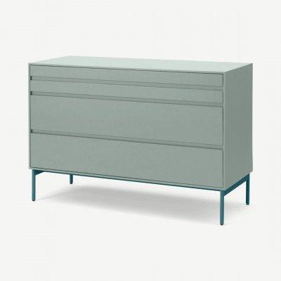 MADE.COM Donica ladekast, betonblauw