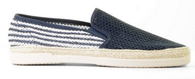 Cypres Cypres Kenno-3 Blauw/Wit Herenloafers