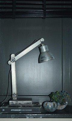 PTMD PTMD Bureaulamp 'Sjors' Metaal 62 cm hoog