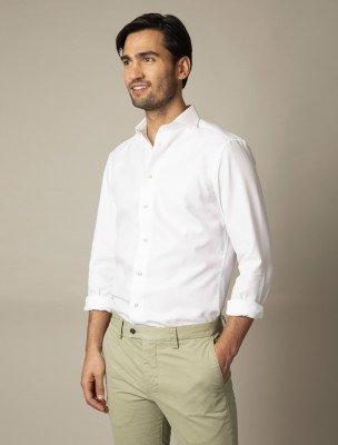 Cavallaro Napoli Cavallaro Napoli Heren Overhemd - Wigekko Overhemd - Wit