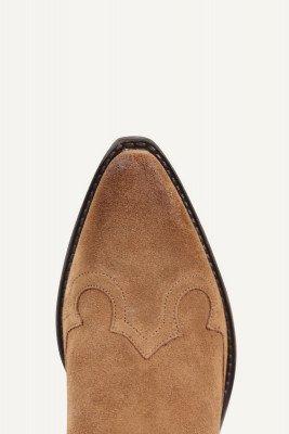 Shoecolate Shoecolate Cowboylaarzen plat Cognac 8.11.08.330