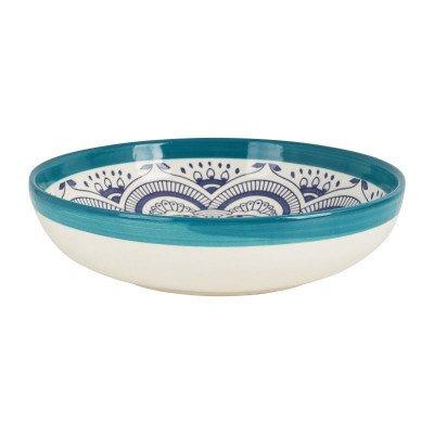 Schaal Marrakesh - turquoise - ø26 cm