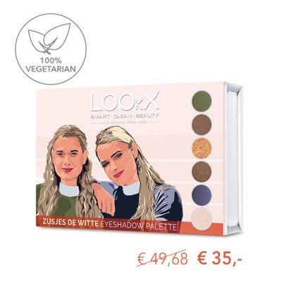 LOOkX LOOkX Eyeshadow palette Zusjes de Witte