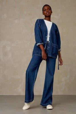 Kings of indigo Kings of Indigo - JANE SAILOR jeans Female - Darkblue