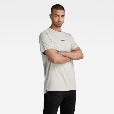 G-Star RAW Center Chest Logo GR Loose T-Shirt - Beige - Heren
