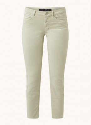 Marc O'Polo Marc O'Polo Lulea mid waist skinny fit cropped jeans in lyocellblend