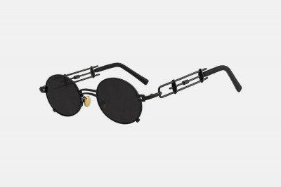 Blank-Sunglasses NL STRAP. - Black with black