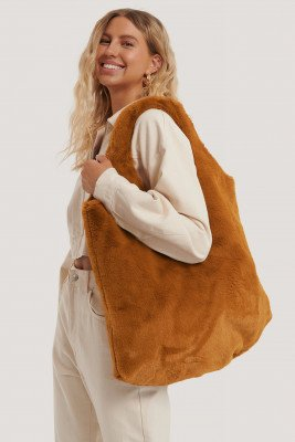 NA-KD Accessories NA-KD Accessories Tote Bag - Orange