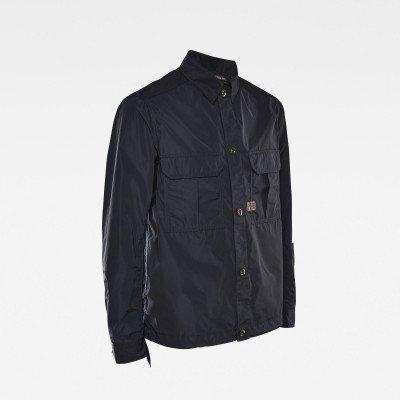 G-Star RAW 2 Flap Pocket Relaxed Overshirt - Donkerblauw - Heren