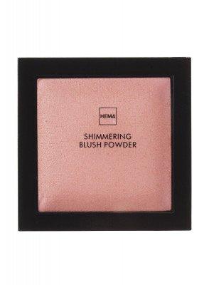HEMA Shimmering Blush Powder Coral Crush (koraal)