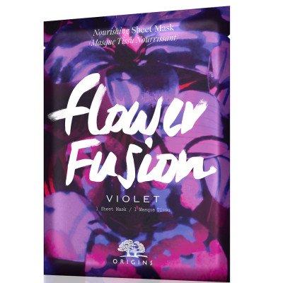 Origins Flower Fusion™ Hydrating sheet mask – Violet Masker 1 st