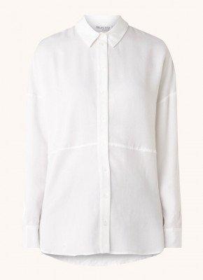 Selected Femme Selected Femme Trixy oversized blouse van lyocell