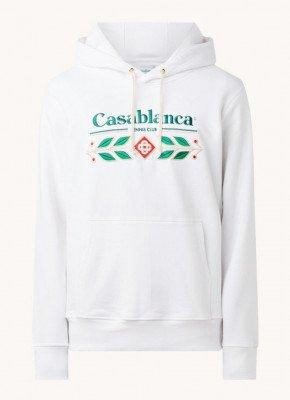 Casablanca Casablanca Laurel hoodie met logoborduring