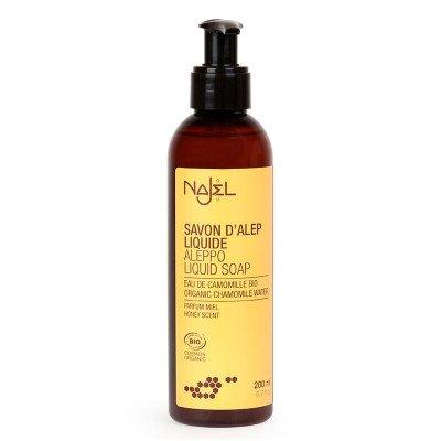 Najel Vloeibare Aleppo zeep met honing (Bio) - 200ml Najel