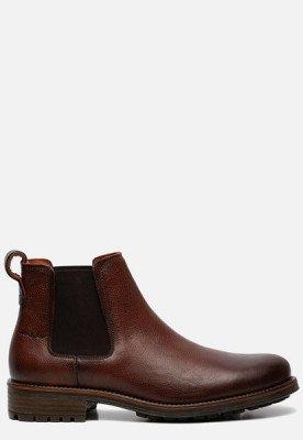 Van Lier Van Lier Fritz chelsea boots cognac