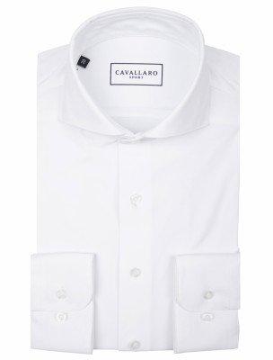 Cavallaro Napoli Cavallaro Napoli Heren Overhemd - Emelio Overhemd - Wit