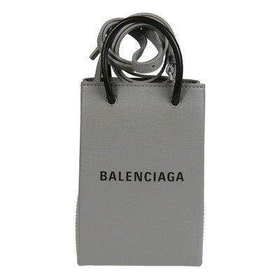 Balenciaga I-Tech Logo Print Crossbody Bag