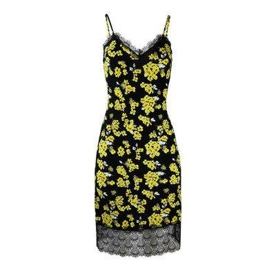 Michael Kors Floral slip jurk