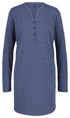 HEMA Damesnachthemd Donkerblauw (donkerblauw)