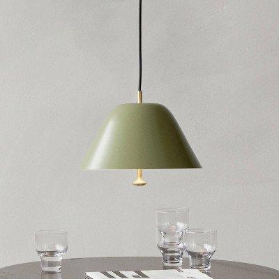 Menu Menu Levitate hanglamp Ø 40 cm saliegroen