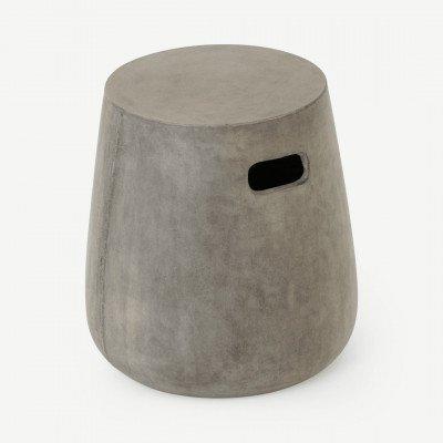 MADE.COM Edson kruk, cementgrijs