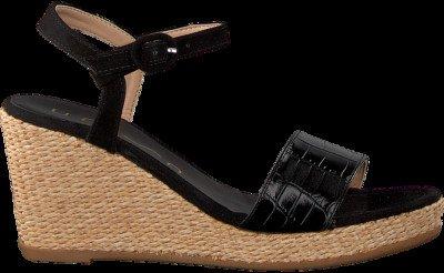 Zwarte Unisa Sandalen Lupa