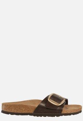 Birkenstock Birkenstock Madrid Buckle slippers bruin