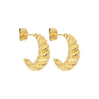 Nola Amsterdam CROISSANT. earrings