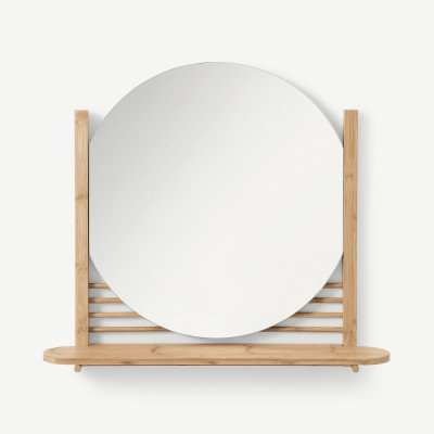 MADE.COM Gian spiegel met plank