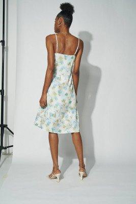 Amalie Star for nu-in Spaghetti Strap Midi Dress