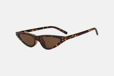 Blank-Sunglasses NL NOTCHY. - Leopard with brown