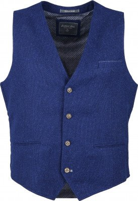 Suitable Kris Gilet Blauw - Blauw maat 48