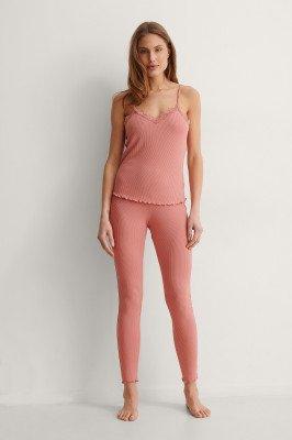 NA-KD Lingerie NA-KD Lingerie Legging - Pink