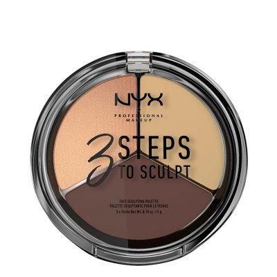 NYX Professional Makeup NYX Professional Makeup Medium 3 Steps To Sculpt Contouring 5g