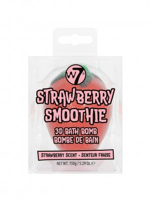 W7 W7 Cosmetics Strawberry Smoothie Bath Bomb