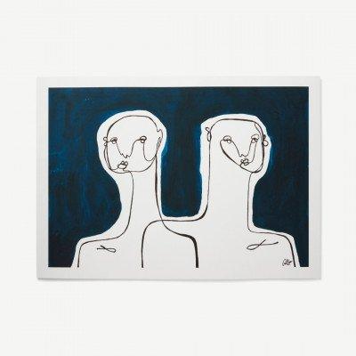 MADE.COM Together door Anna Moerner, print, 50 x 70 cm