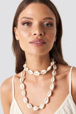 Trendyol Seashell Necklace - Beige