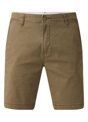 Levi's Levi's Regular fit chino korte broek met stretch
