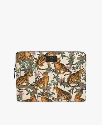 """Wouf Wouf Laptopsleeve 15"""" Lazy Jungle"""